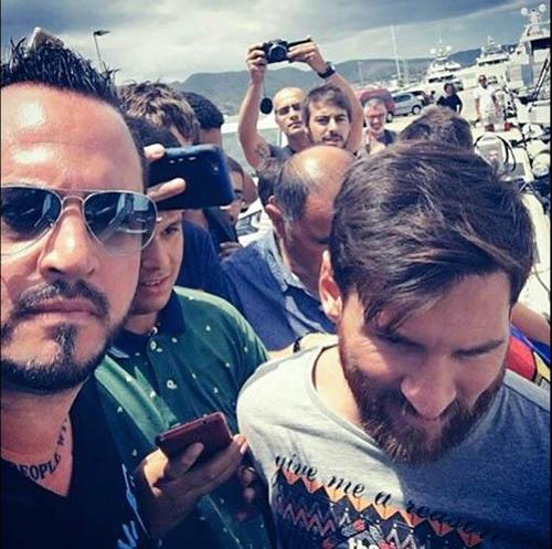 Patrick Baiata Lionel Messi