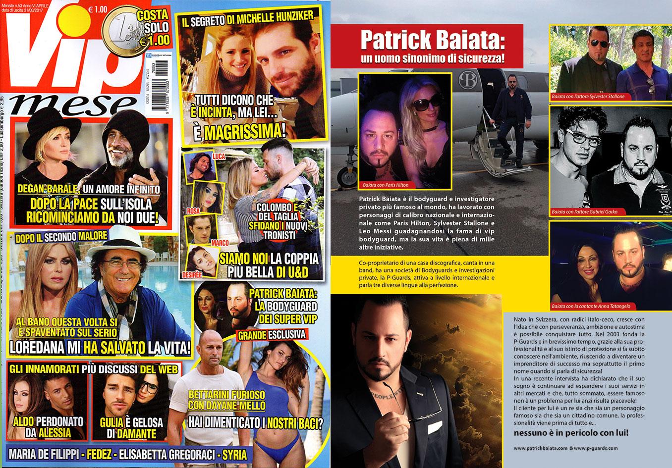 Patrick Baiata VIP Mese Magazin